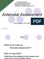 Lec04 Antenatal Assessment