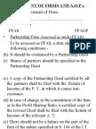 Assessment of Firms Aop