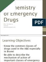 Biochemistry of Emergency Drugs