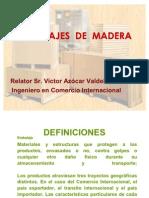 Exposición sobre Embalajes de Madera