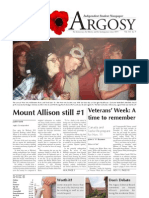 Argosy November 3, 2011