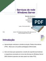 Tema 3-_Serviços de Rede Windows Server _15_JUL_17