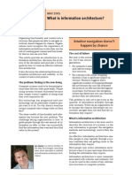 ARTICULO05 What is Information Architecture
