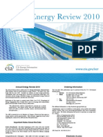 EIA Annual Energy Review 2010