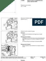 RA Dépose Et Repose Ou Rem Placement de La Pompe à dépression (M51)