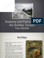 Anatomy and Pathology of the Achilles Tendon Tracy MacNair (1)