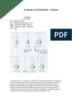 Diagrama de Quadro de Distribuição - Siemens