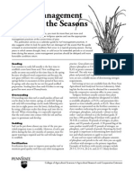 Lawn Management Through the Seasons