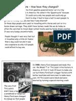 History the History of Cars