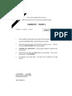 Chemistry 2000 Paper 2+Ans