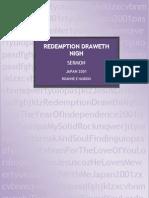 Redemption Draweth Nigh Sermon - Japan 2001