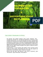 Crescimento Populacional e Sustentabilidade