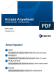 Access Everywhere Access Manager Interoperability