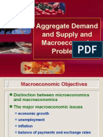 Aggregate Demand and Supply in Macro Economic Problems