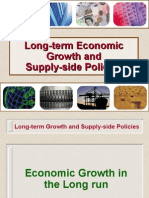 Long-Term Economic Growth and Supply-Side Policies