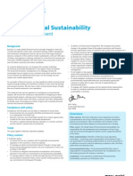 Barclays Environmental Sustainability Policy
