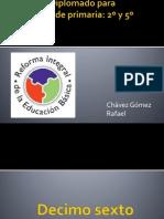 Reforma integral de la Educación Básica    Diplomado