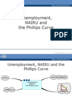 Unemployment, NAIRU and the Phillips Curve