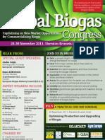 5th Annual Global Biogas Congress
