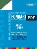 Bases Fondart 2011
