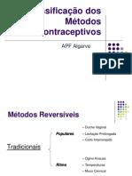 Classificação dos Métodos Contraceptivos