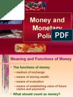 Money and Monetary Policy
