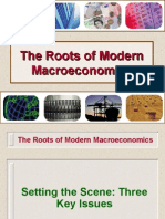 The Roots of Modern Macroeconomics
