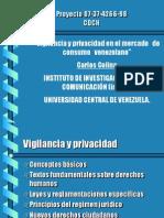 SEDUCIR Y CONTROLAR Vigil an CIA y Privacidad en El Mercado de Consumo Venezolano