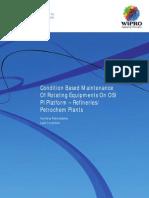 CBM of Rotating Equipments on OSI PI Platform
