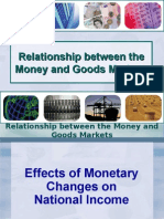 Relationship Between Money and Goods Markets
