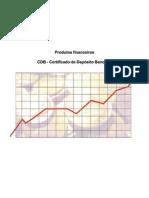 Produtos financeiros CDB