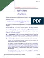 Rent Control Act of 2005 (RA 9341)