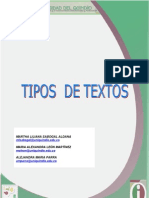 Guía 3 UNIDAD. Tipos de Textos