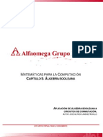 Aplicacion Del Algebra Booleana en Los Circuitos de Conmutacion