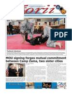 Torii U.S. Army Garrison Japan weekly newspaper, Nov. 3, 2011 edition