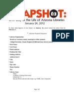 AZSnapshot Questionnaire