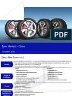 Market Research Report :Tyre Industry in China 2011