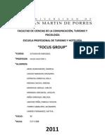 Focus Group - Estudio de Mercado