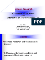 Business Research Spring 2005