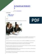 DISEÑO DE PAGINAS WEB EN AREQUIPA