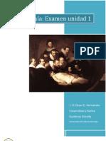 Examen de Anatomía Unidad I