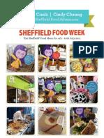 Missie's Sheffield Food Week Plan 2011