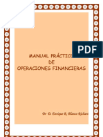 Blanco Richart Enrique - Manual Practico de Operaciones Financier As