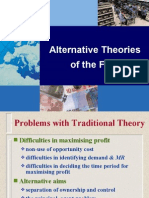 Alternative Theories of the Firm