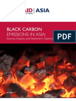 Black Carbon Emissions in Asia