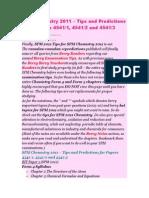 SPM Chemistry 2011