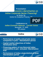 Presentation Impact of Economic Liberal is at Ion on Indian248