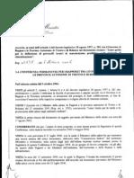 linee guida per la definizione di protocolli tecnici di manutenzione predittiva degli impianti di climatizzazione (g.u. 03-11-2006)
