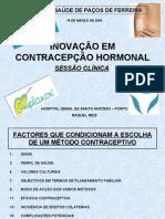 Novos mÉtodos Contraceptivos 1pq