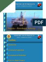 Angola Oil & Gas Activity